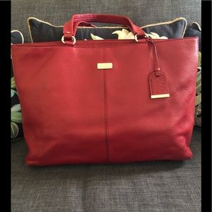 Cole Haan leather tote bag!
